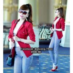 Áo khoác vest nữ cổ phi 6 nút giống bella - AV2619