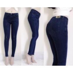 Quần jean nữ lưng cao cào rách 2 bên cá tính - AV3488